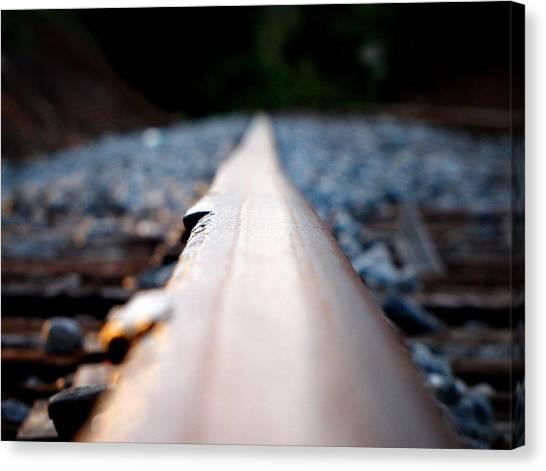 Rail Line Canvas Print