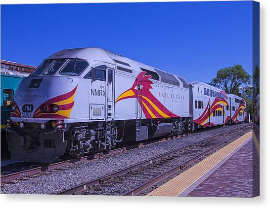 Roadrunner Canvas Print - Rail Runner Santa Fe by Garry Gay