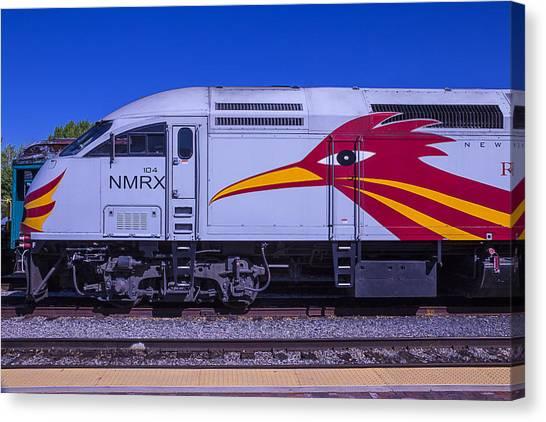 Roadrunner Canvas Print - Rail Runner Train by Garry Gay