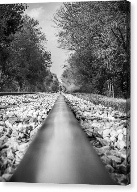 Rail Way Canvas Print