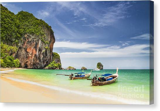 Railay Beach Canvas Print