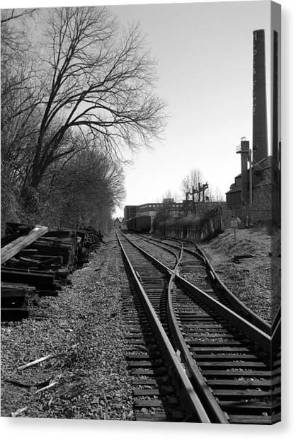 Railroad Siding Canvas Print