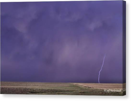Rain Bolt Canvas Print