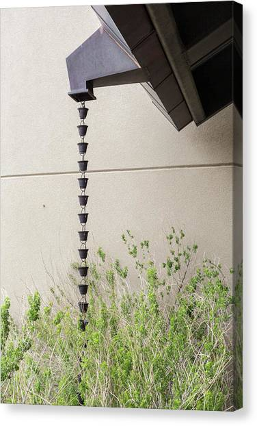 Carlsbad Caverns Canvas Print - Rain Chain by Jim West/science Photo Library