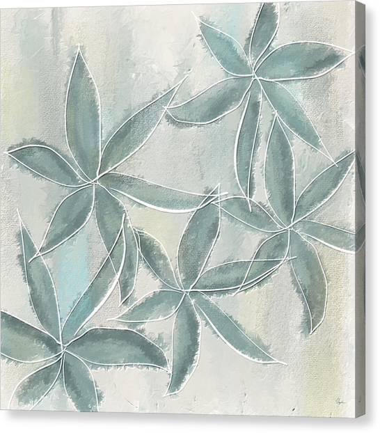 Light Paint Canvas Print - Rain Flowers by Lourry Legarde