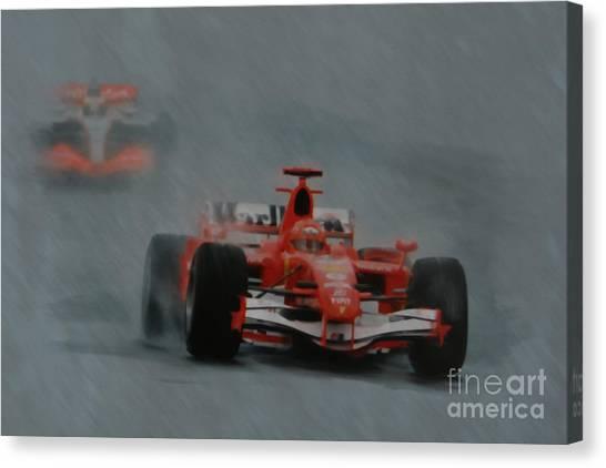 Rain Master Canvas Print
