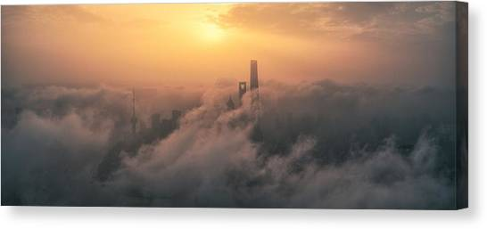 China Canvas Print - Rain Of Sand by Stan Huang