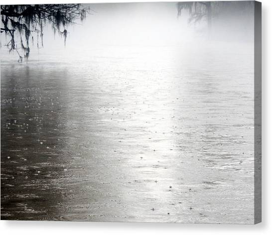 Rain On The Flint Canvas Print