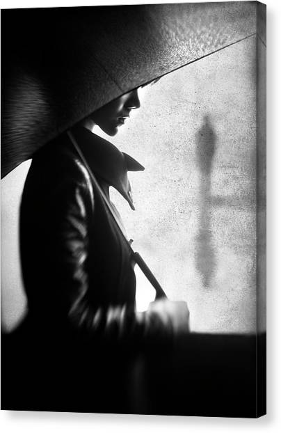 Rain Please Tell Him... Canvas Print by Sebastian Kisworo