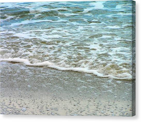 Rain Sea  Canvas Print