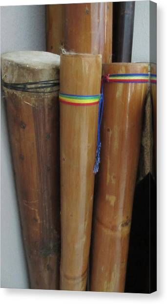 Rain Sticks Canvas Print