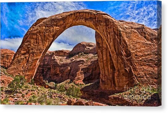 Rainbow Arch Canvas Print