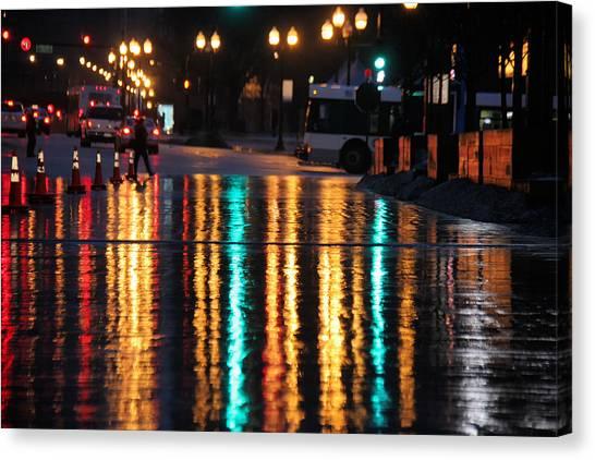 Rainbow Ave Canvas Print