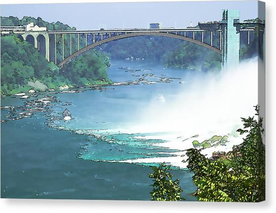 Rainbow Bridge Canvas Print