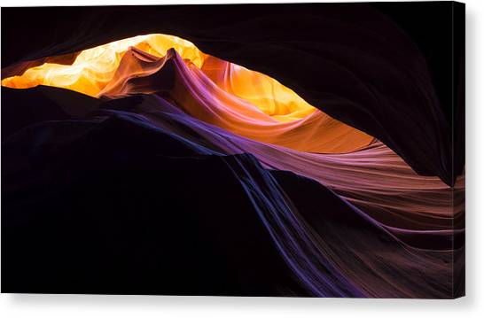 Rainbows Canvas Print - Rainbow Canyon by Chad Dutson