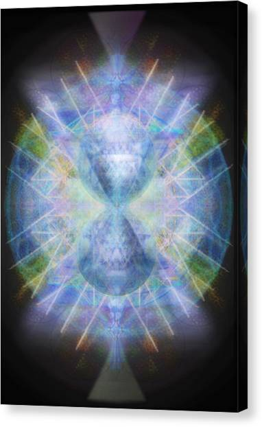 Rainbow Chalice Cell Isphere Matrix Canvas Print