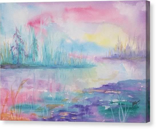 Rainbow Dawn Canvas Print
