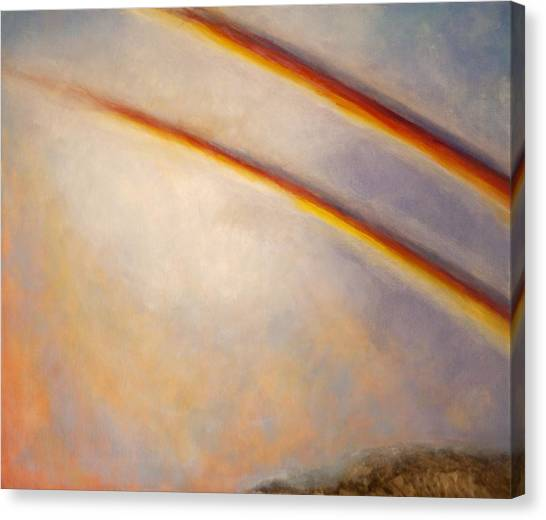 Rainbow For Grace Canvas Print