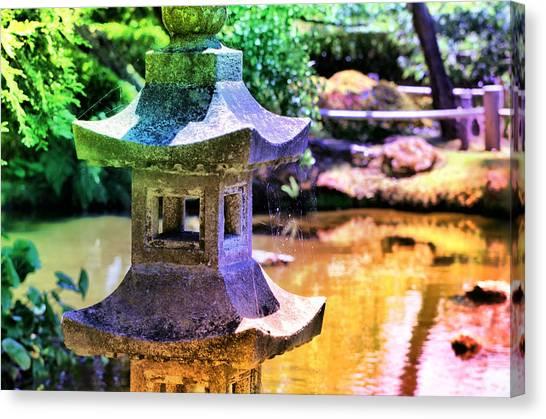 Rainbow Pagoda Canvas Print