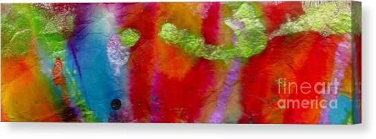 Rainbow Passion Canvas Print