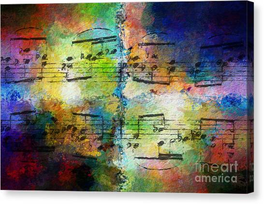 Rainbow Quad Canvas Print