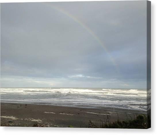 Rainbow Canvas Print by Ron Torborg