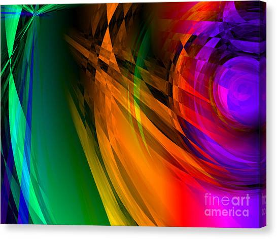 Rainbow Thoughts Canvas Print
