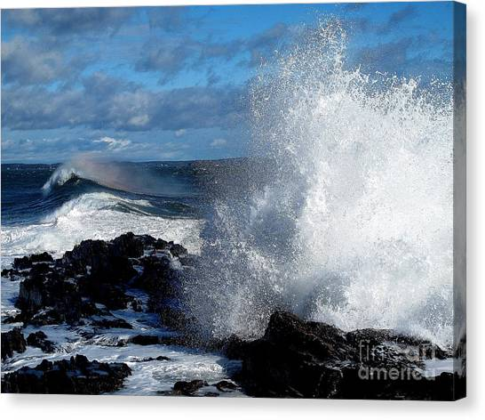 Rainbow Wave Canvas Print