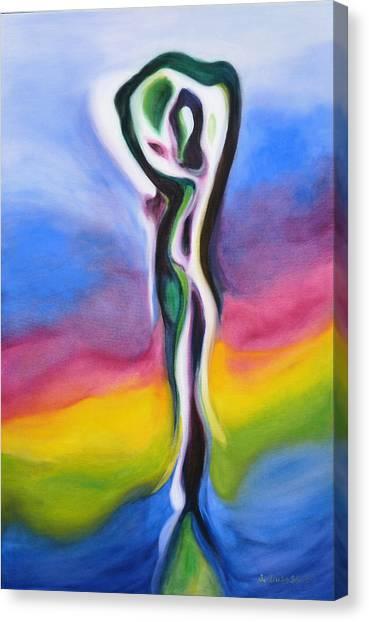 Rainbows Are Promises Canvas Print