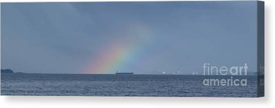 Rainbow's End Canvas Print