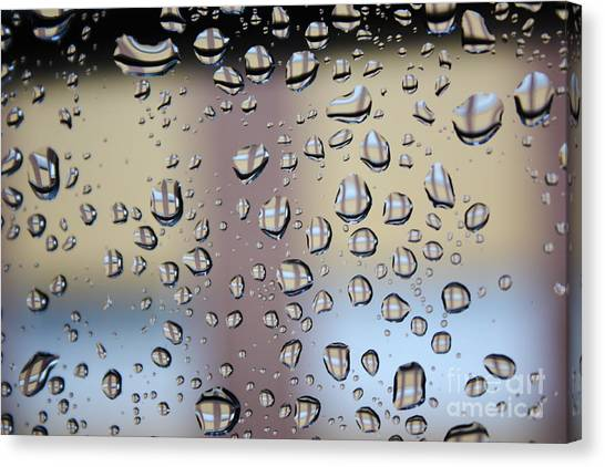 Gota Canvas Print - Raindrops On The Window by Jose Carlos Velasco