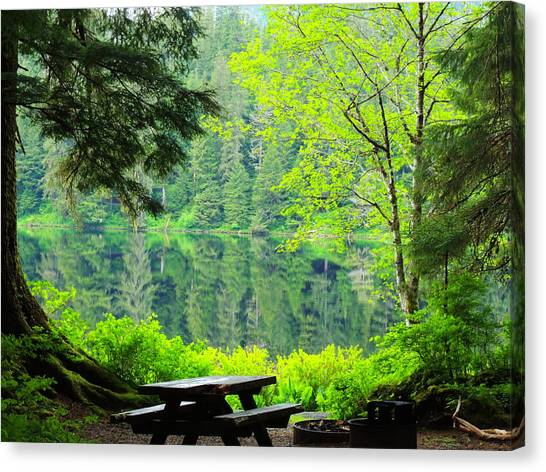 Rainforest Beauty Canvas Print