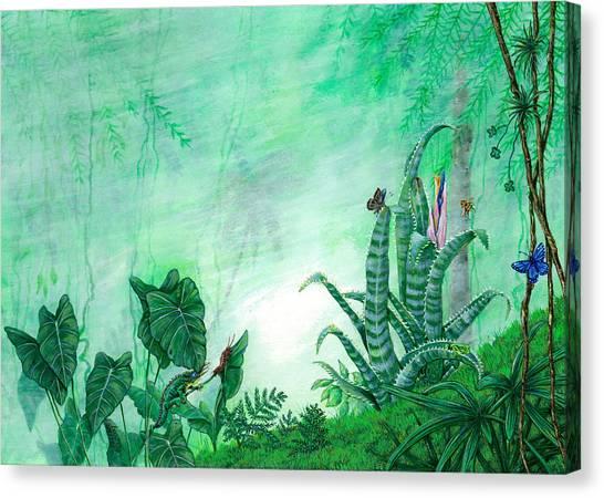 Rainforest Creatures. Canvas Print