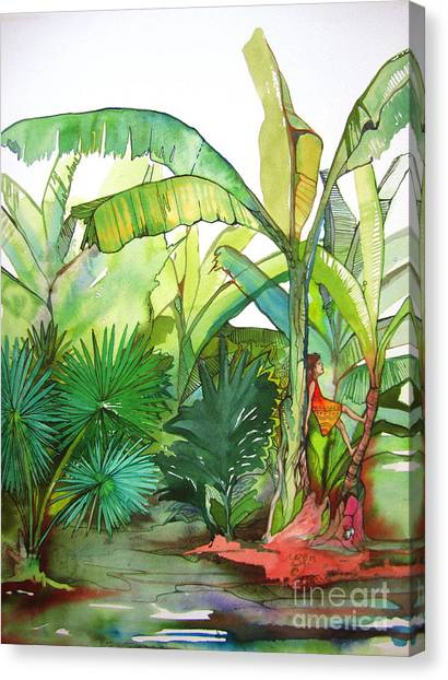 Rainforest Canvas Print by Maya Simonson