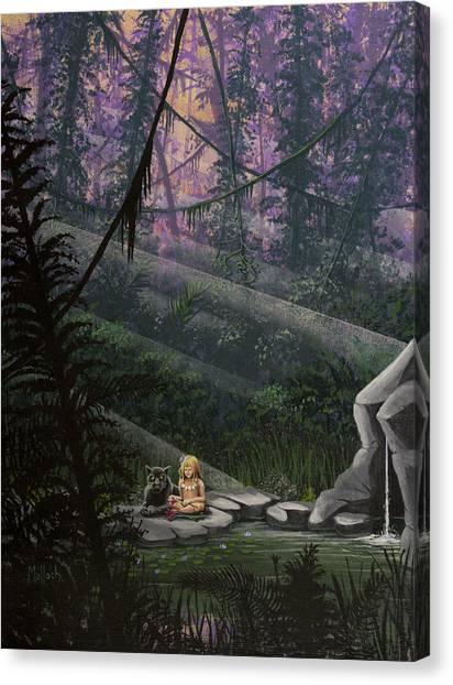 Rainforest Mysteries Canvas Print