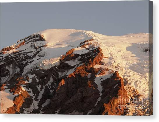 Rainier Summit Canvas Print
