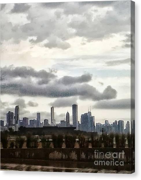 Rainyday Canvas Print