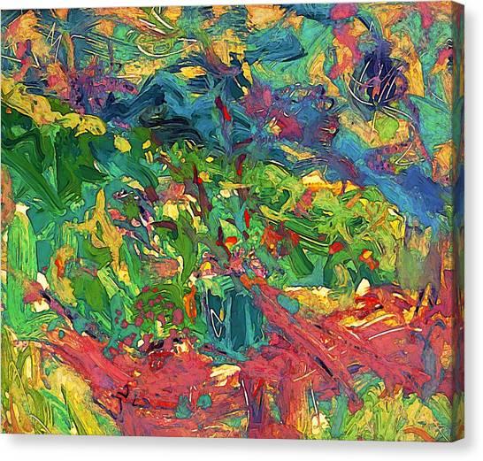 Raised Bed Garden Canvas Print