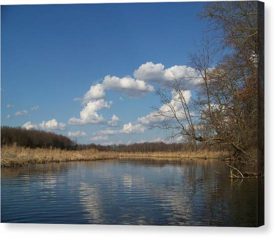Raisen River Canvas Print by Jennifer  King