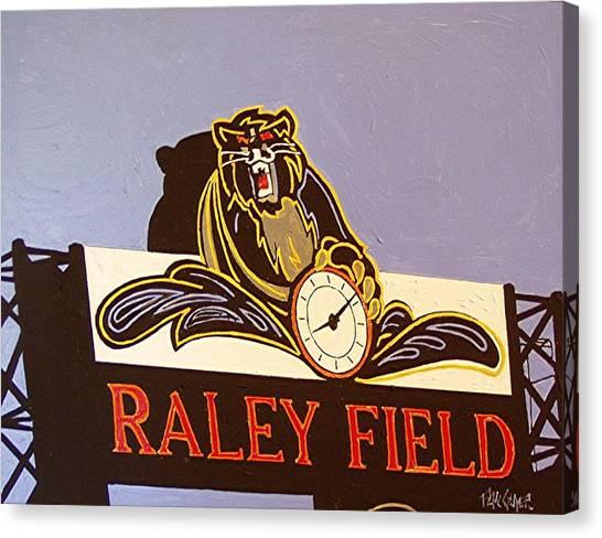 Raley Field Canvas Print by Paul Guyer