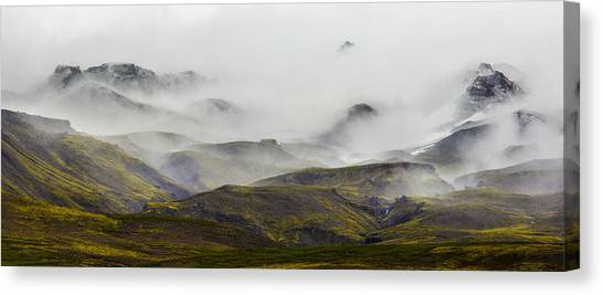 Ramble Thru The Mountains I Canvas Print