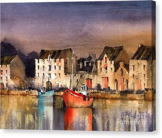 Ramelton Dusk  Donegal Canvas Print