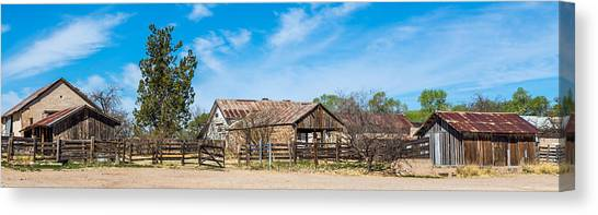 Ranch Panorama Canvas Print