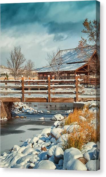 Rancho San Rafael Pavilion Canvas Print