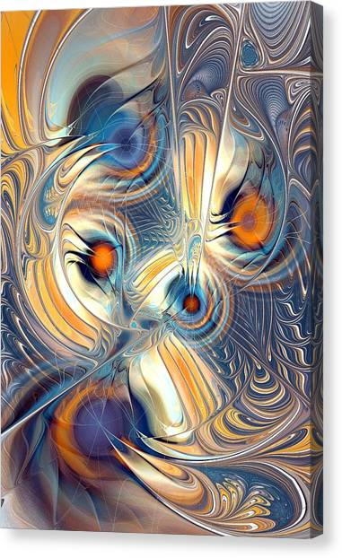 Science Fiction Canvas Print - Random Thoughts by Anastasiya Malakhova