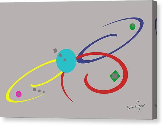 Randomness Variations 3 Canvas Print
