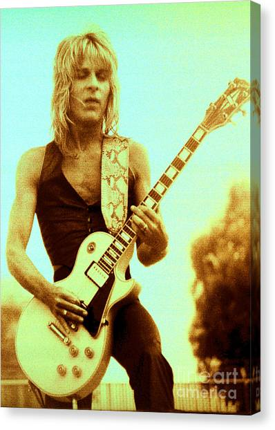 Randy Rhoads Day On The Green Unreleased One Canvas Print