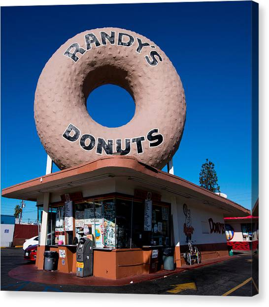 Randy's Donuts Canvas Print