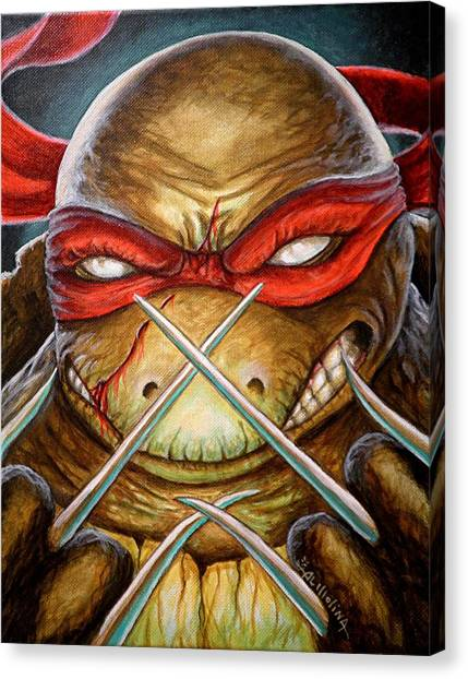 Raphael Unleashed  Canvas Print by Al  Molina