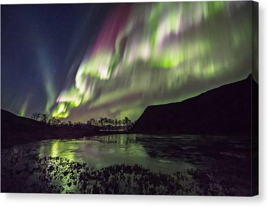 Rapid Auroras Canvas Print